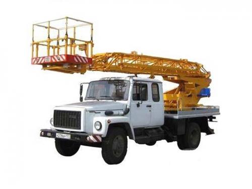 Автовышка телескопическая 18 метров