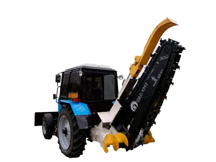 Тракторр МТЗ | фреза
