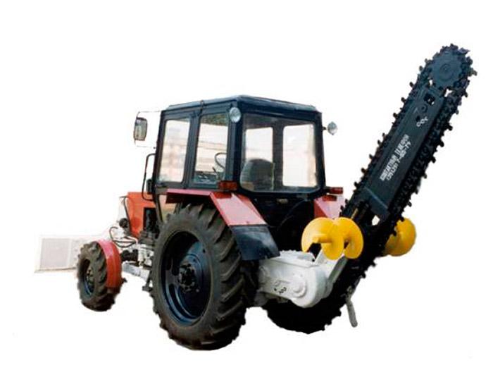 Трактор МТЗ | бара (грунторез)